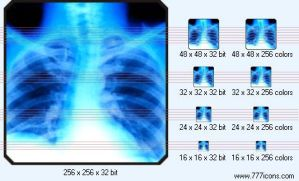 X-ray picture Icon by medical-icon-set