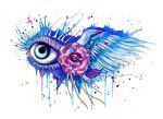 I can see heaven -original on sale- by PixieCold