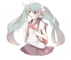 School Miku by masakimi