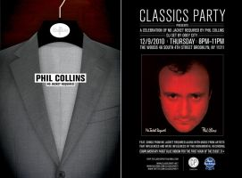 CP Phil Collins flyer by kenji2030