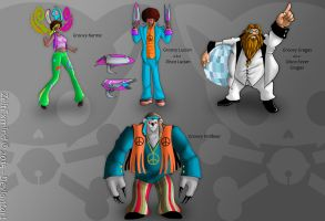 Skins Ideas2 : Groovy Team by ZeitExmind