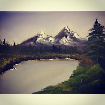 I Am The Real Bob Ross by alexandrabehn