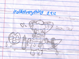 arctic star doodle sketch thing by iFailAtEverything