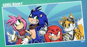 Sonic Boom Fanart by Lumary92