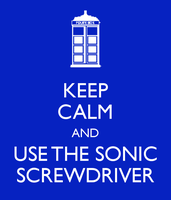 Sonic Screwdriver Poster by BrigadierBenchpress