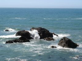 Beach: Offshore Rocks by sc4mp1