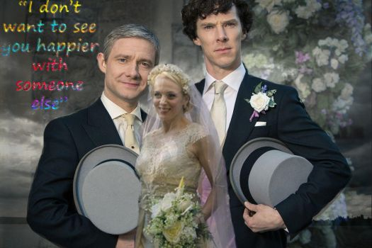 Happier With Someone Else - Sherlock by glowingmystery