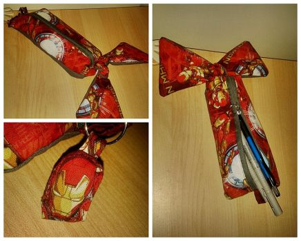 Iron Man Pencilcase by Freaky-chan