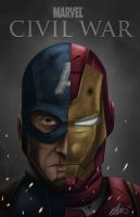 Marvel's Civil War 2015 by Art-Of-Nathan-Wright