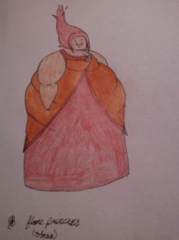 Obese Flame Princess (naruto1234007's Request) by Hakanania