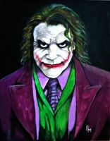 Joker Painting by PM-Graphix