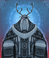 ODIN Allfather by Promilie