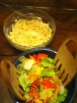 First Dinner I Have Made Alone For Family by quaneta
