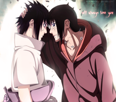 Sasuke and Itachi - I will always love you by Sof-yx