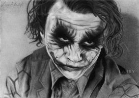 Joker -Heath Ledger- by GazeRock-13