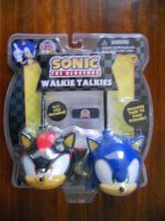Sonic the Hedgehog Walkie Talkies by BoomSonic514