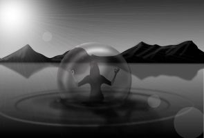 Bubble of Tranquility by SCT-GRAPHICS