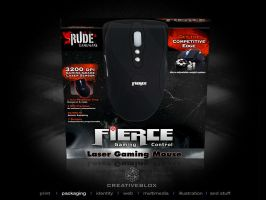 Rude Gaming Mouse packaging by creativeblox