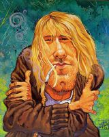 Kurt Cobain by oazen2008