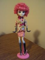 Monster High Effie Trinket by mysteriousmage