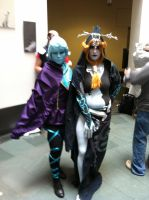 Fi and Midna Cosplay by Madigan308