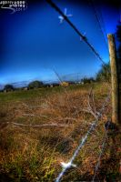 Country Fence by JoeMyDodd