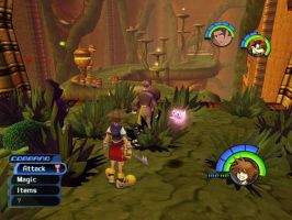 New level in Kingdom Hearts by Hino-Akurei
