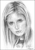 Sarah Michelle Gellar by Art15