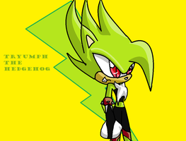 Tryumph in sonic x by Tricktryumph