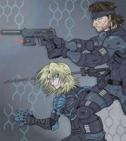 MGS 2 Sons Of Liberty by KajiMateria