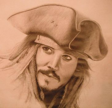 Captain Jack Sparrow by WeHaveTheSameFace