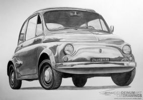 1972 Fiat 500 by SD1-art