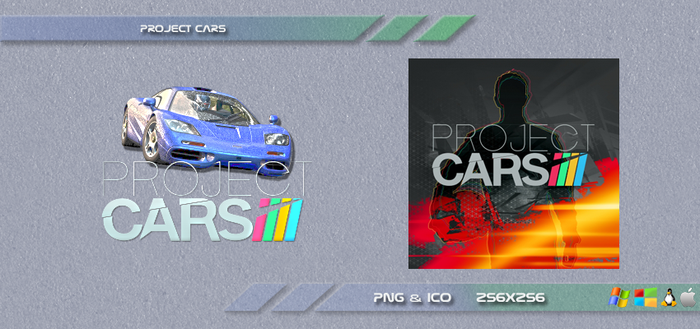 Project Cars Dock Icons by Dohc-WP
