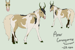 #145 WWR's Amor Consequentia Reference Sheet by EquestrianJade