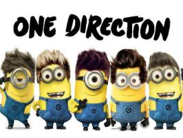 One Direction Minions by Proud2BMe1936