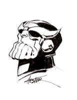 Thanos Arrogant by Phil Hester by IamSpeck