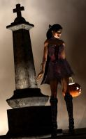 Lara Croft halloween dress 2012 zipper edit by 7ipper