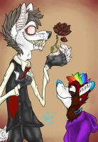 A Beautiful Flower Finished by MetallicSkull