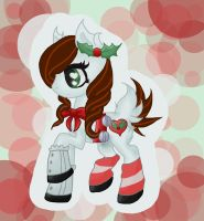 FREE Christmas Pony Adopt CLOSED by MakePastaNot-War