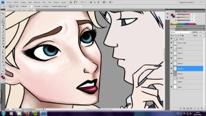 Valentines Day Pic 01 - WIP by LinaPrime