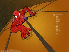 Vector Spidey by fuzzynoise