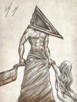 Pyramid Head by sarumanka