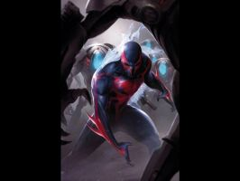 Spider man 2099 by lucasrocks04