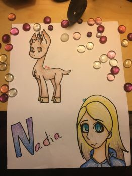 I made rudolph..... by Fireflower500