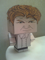 Chef Gordon Ramsay Cubee Finished by rubenimus21