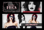 Pack Png 735 // Lali Esposito. by ExoticPngs