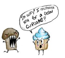Muffin Gone Mad by ayanefujimoto