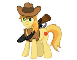 Braeburn (Treasure in the West) by DiveBomb5
