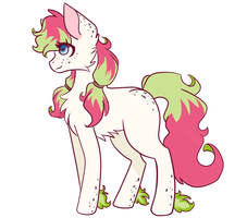 Dragon Fruit Pony Adoptable (CLOSED) by MintPencil