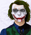 Joker Colored by JesusFreak-4Ever